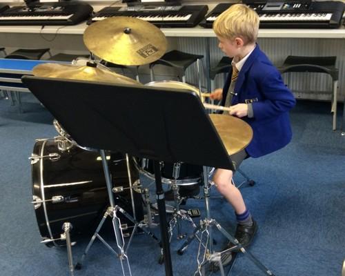 Lady Barn House School Drums