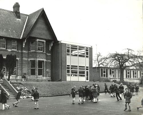 Lady Barn House School Langlands Plaground 1973