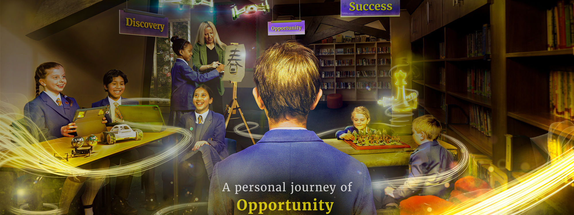 Lady Barn House School Discovery Opportunity Success Library