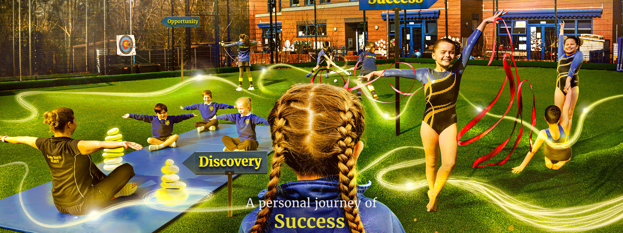 Lady Barn House School Discovery Opportunity Success Sport