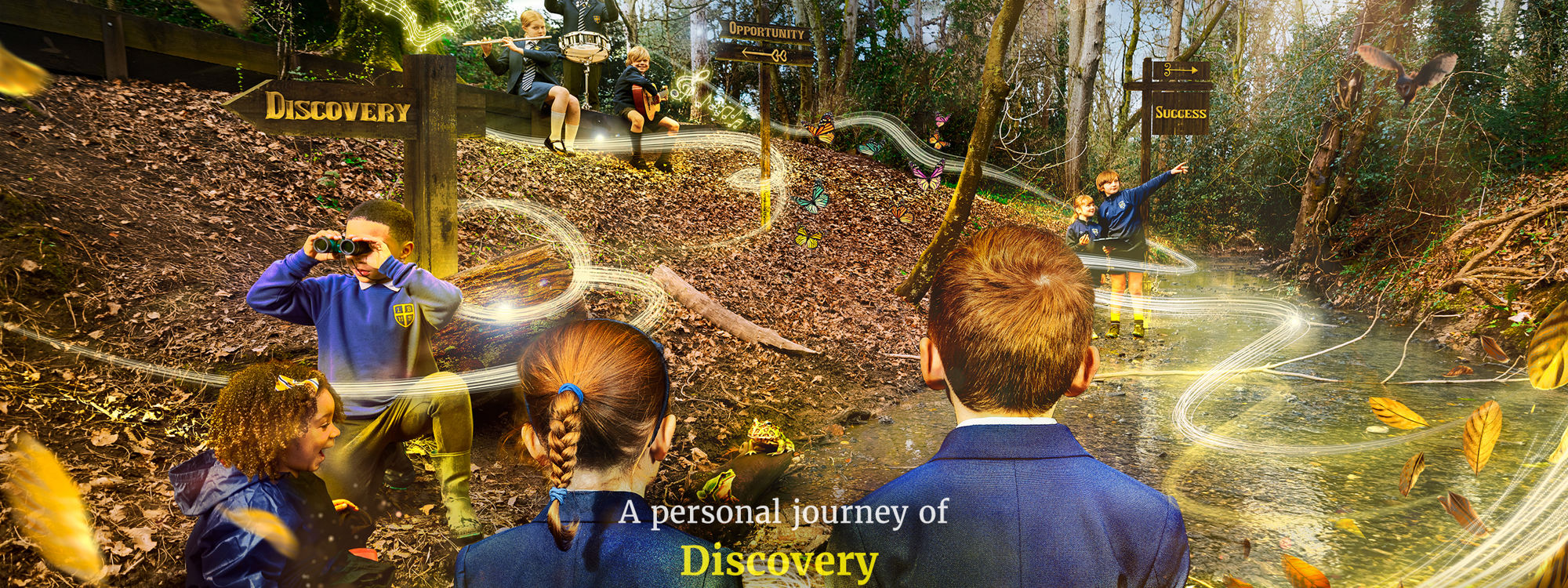Lady Barn House School Discovery Opportunity Success Woods